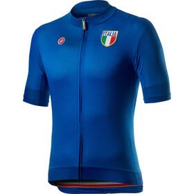 Castelli Italia 2.0 Maillot Manches courtes Homme, azzurro italia